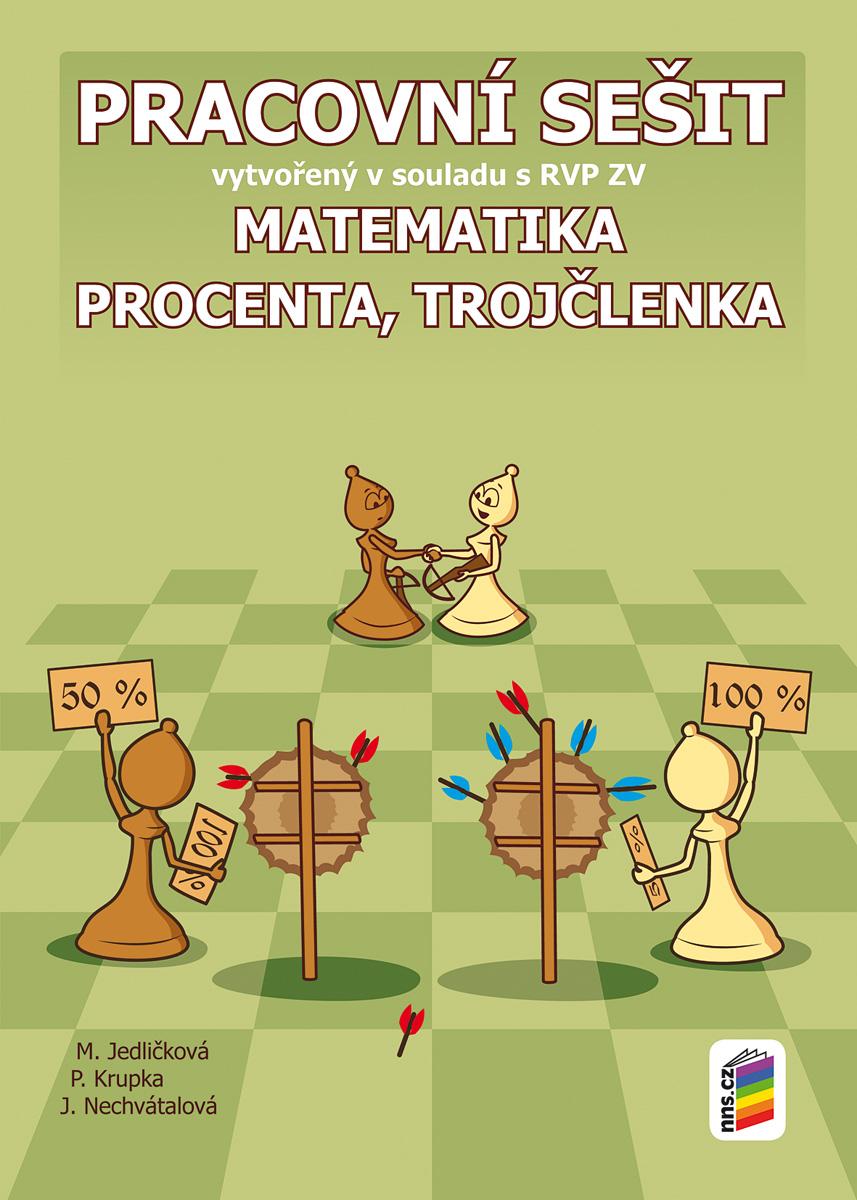 Matematika - Procenta, trojčlenka (pracovní sešit)