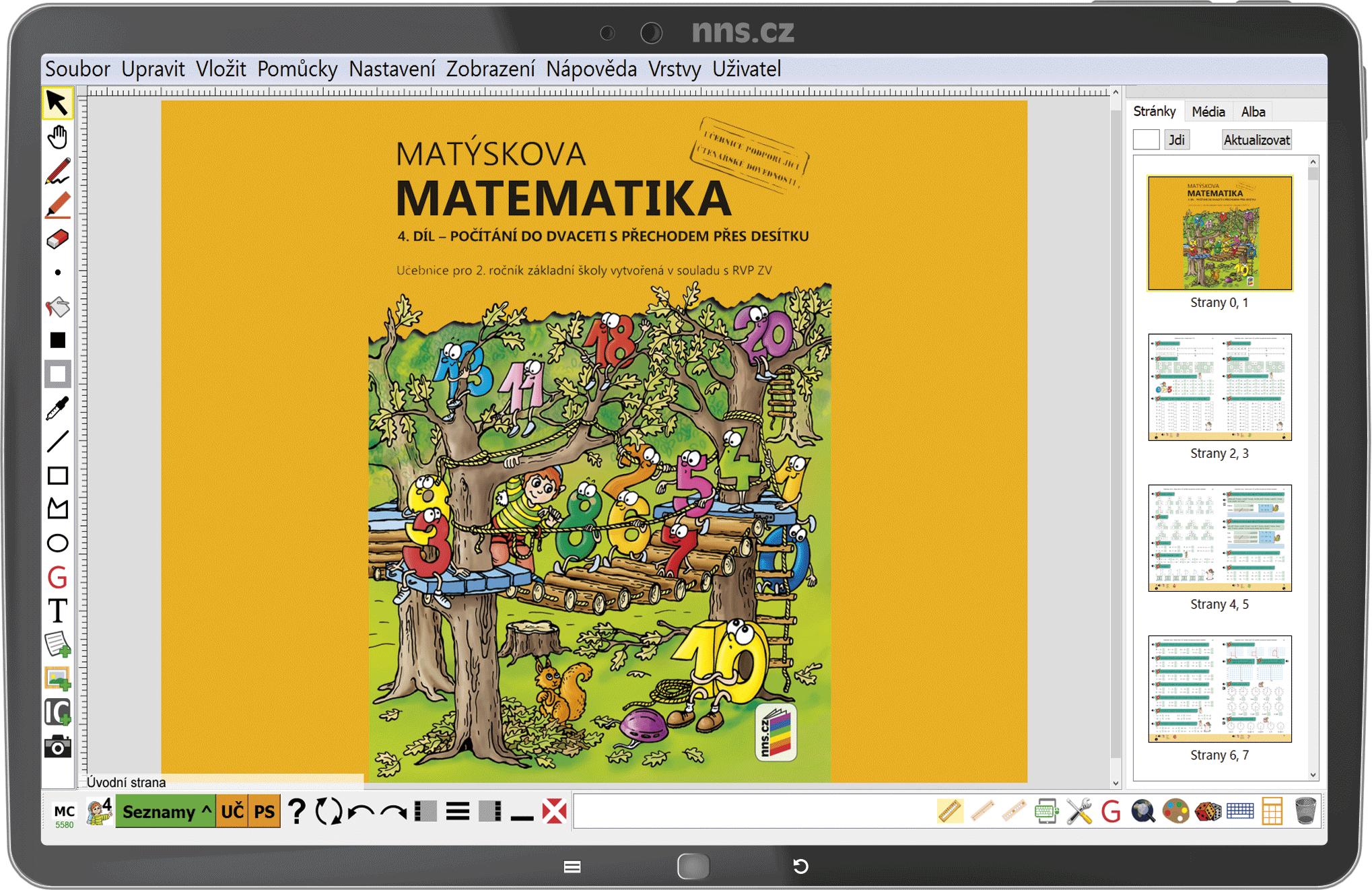 MIUč+ Matýskova matematika 2 (4., 5. a 6. díl) časově neomezená školní multilicence