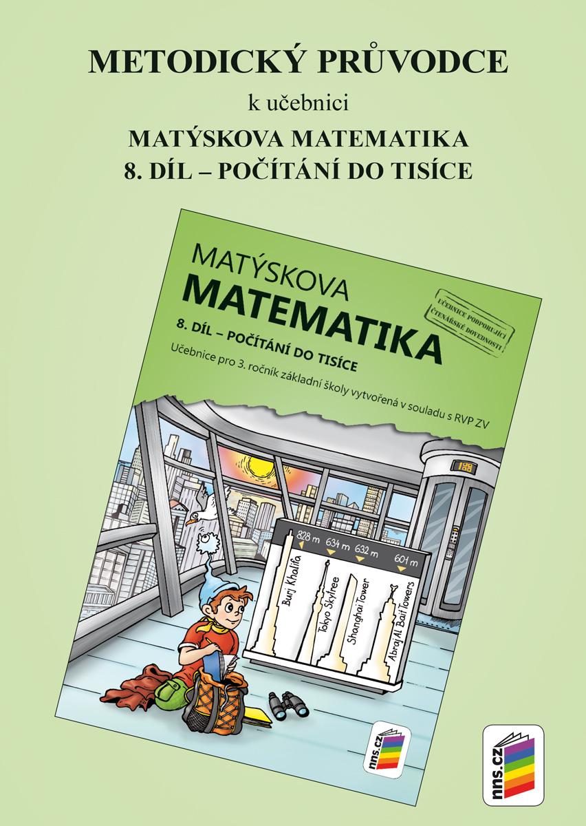 Metodický průvodce k učebnici Matýskova matematika, 8. díl NOVINKA