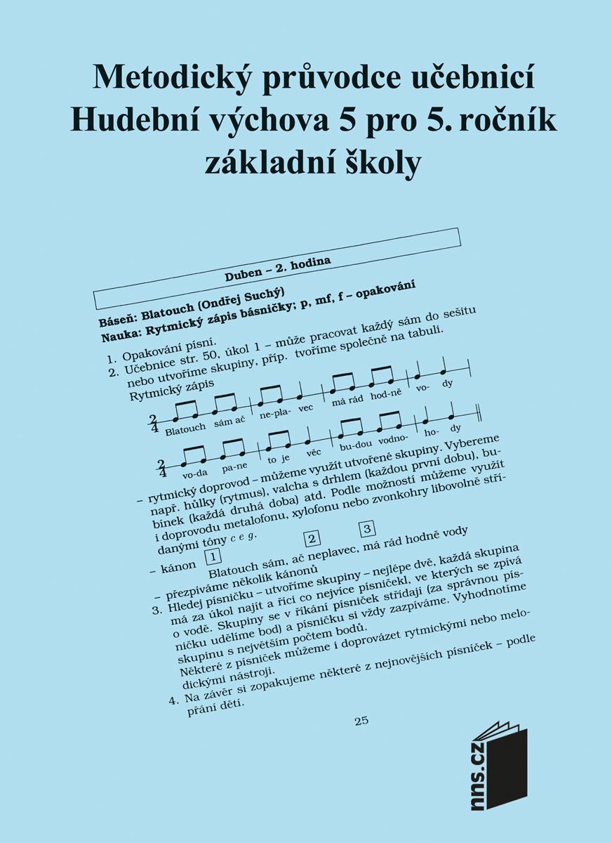 Metodický průvodce k učebnici HV 5