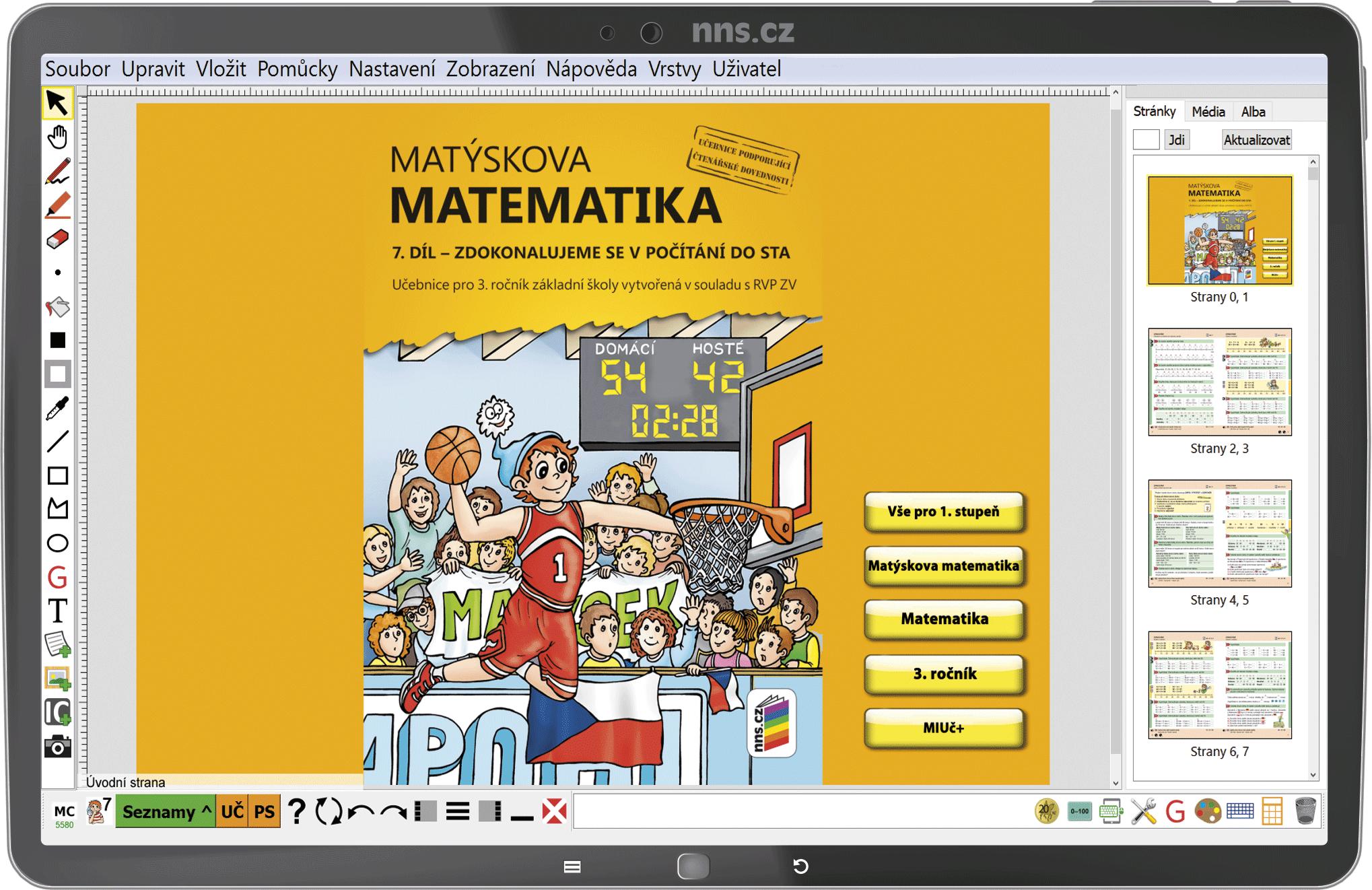 MIUč+ Matýskova matematika 3 (7. díl, 8. díl. a geometrie) šk. multilicence na 1 šk. rok