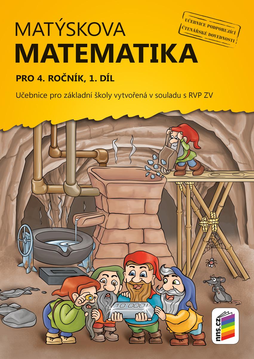 Matýskova matematika pro 4. ročník, 1. díl (učebnice)