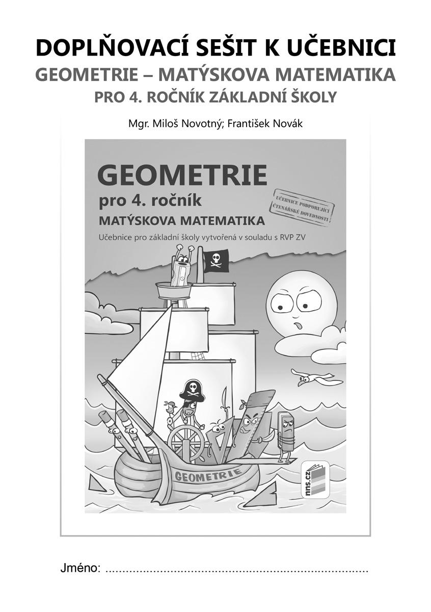 Doplňkový sešit k učebnici Geometrie pro 4. ročník