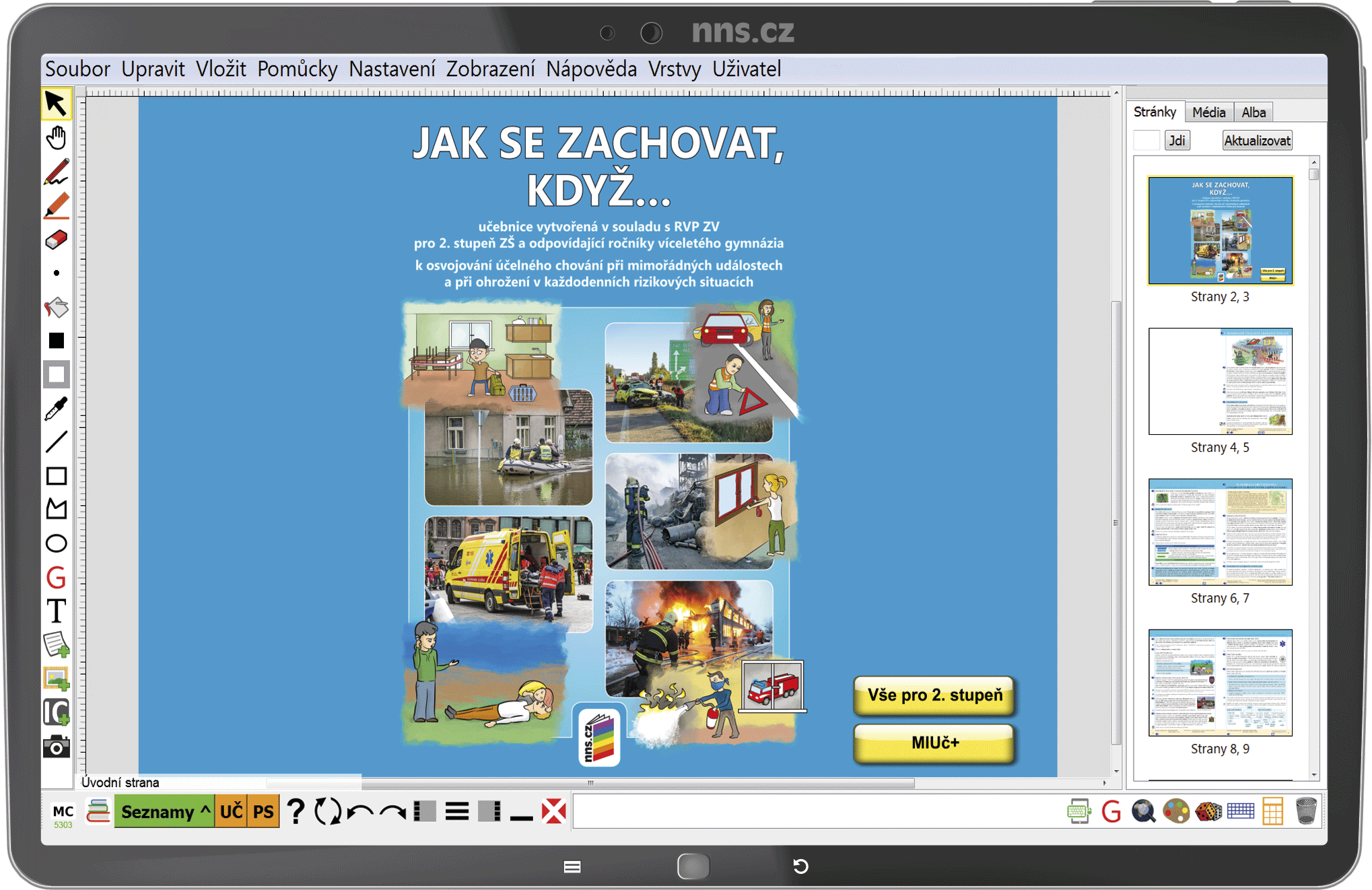 MIUč+ Jak se zachovat, když... - žák. licence na 1 šk. rok