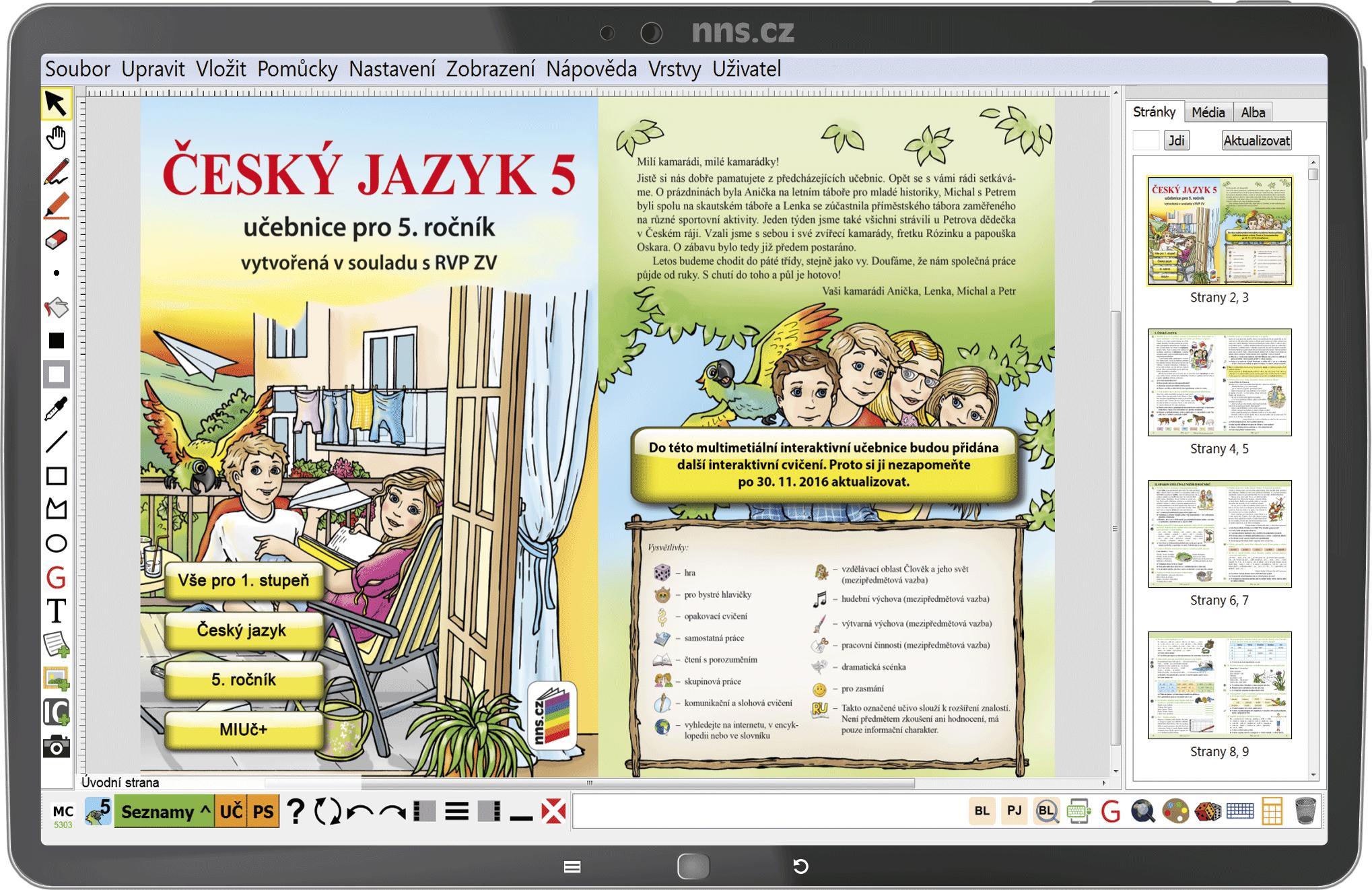 MIUč+ Český jazyk 5 - žák. licence na 1 šk. rok NOVINKA