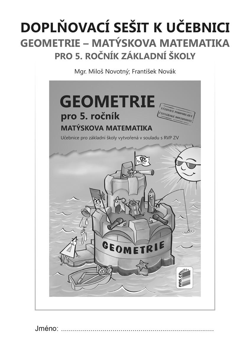Doplňkový sešit k učebnici Geometrie pro 5. ročník