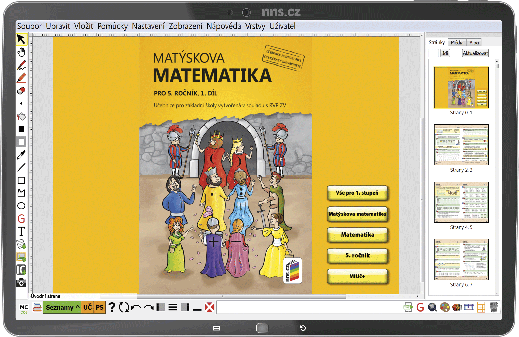 MIUč+ Matýskova matematika 5 (1. díl, 2. díl a geometrie) - žák. licence na 1 šk. rok
