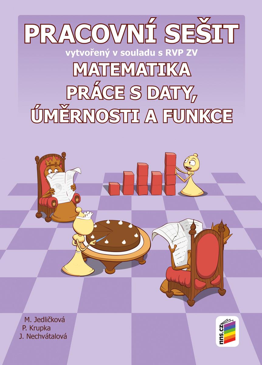 Matematika 9 - Práce s daty, úměrnosti a funkce (pracovní sešit)