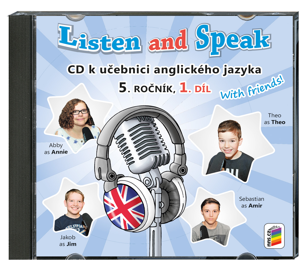 CD Listen and Speak With Friends! 1. díl
