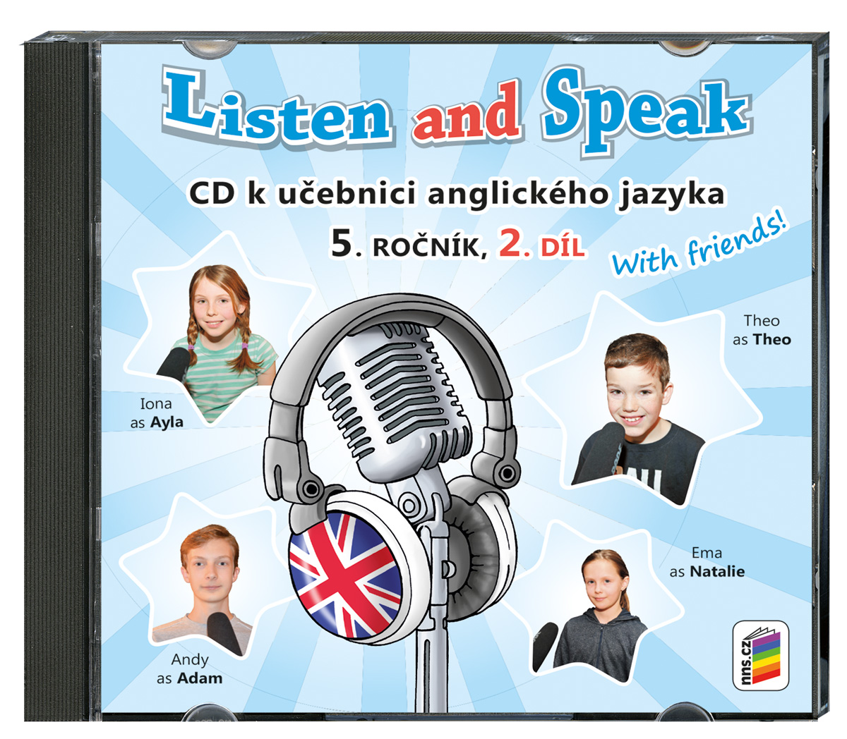 CD Listen and Speak With Friends! 2. díl