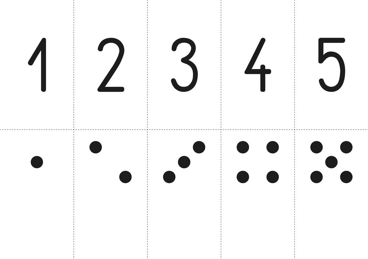 Soubor značek a číslic NOVĚ pro 1. ročník