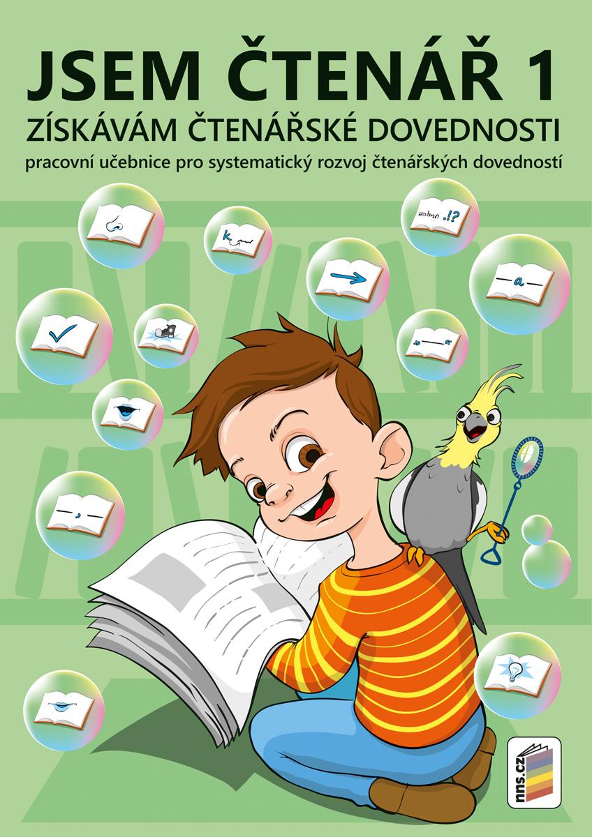Jsem čtenář 1 - získávám čtenářské dovednosti (barevný, doporučeno pro 2. ročník)