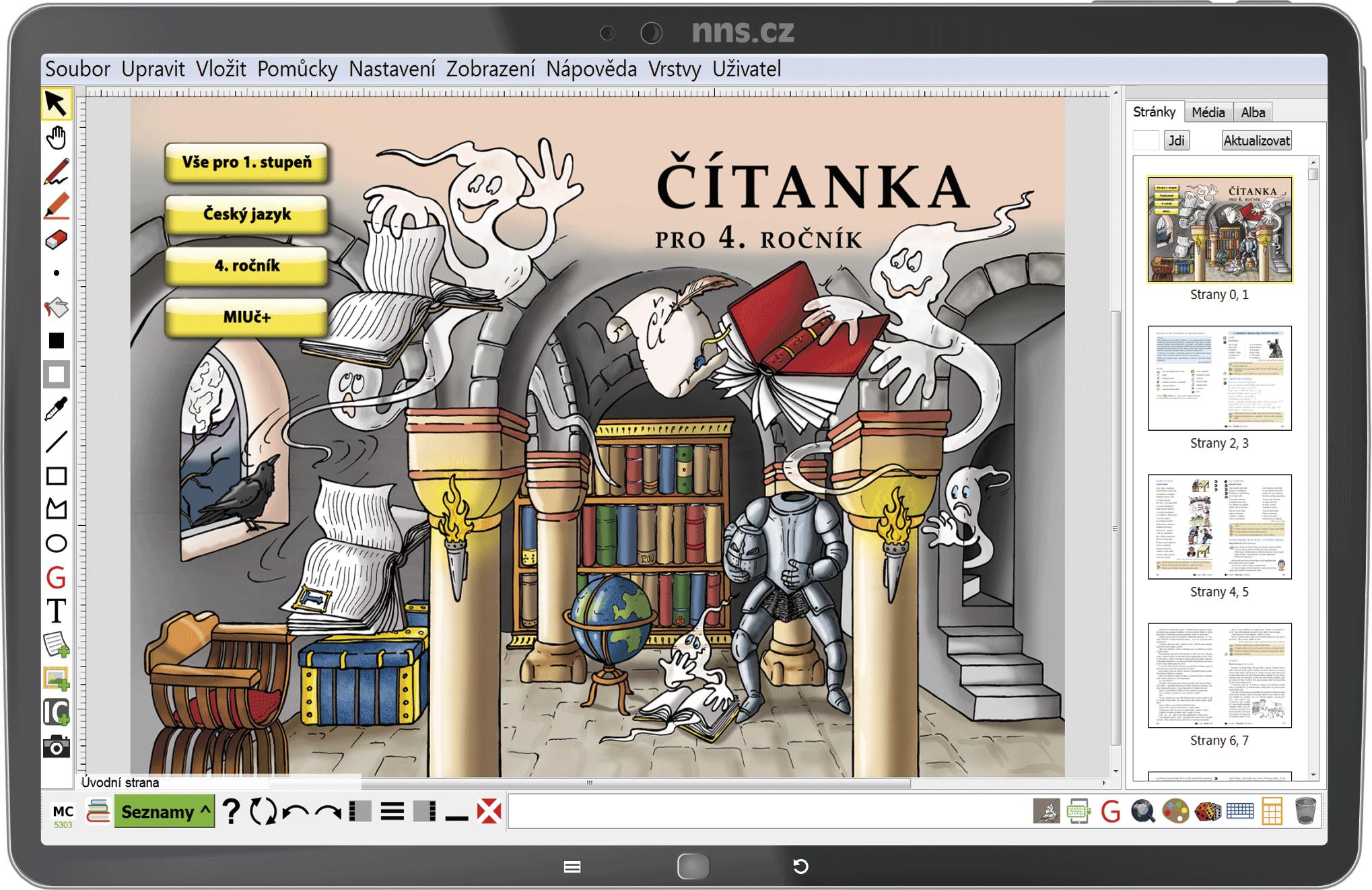 MIUč+ Čítanka 4 – školní licence pro 1 učitele na 1 školní rok