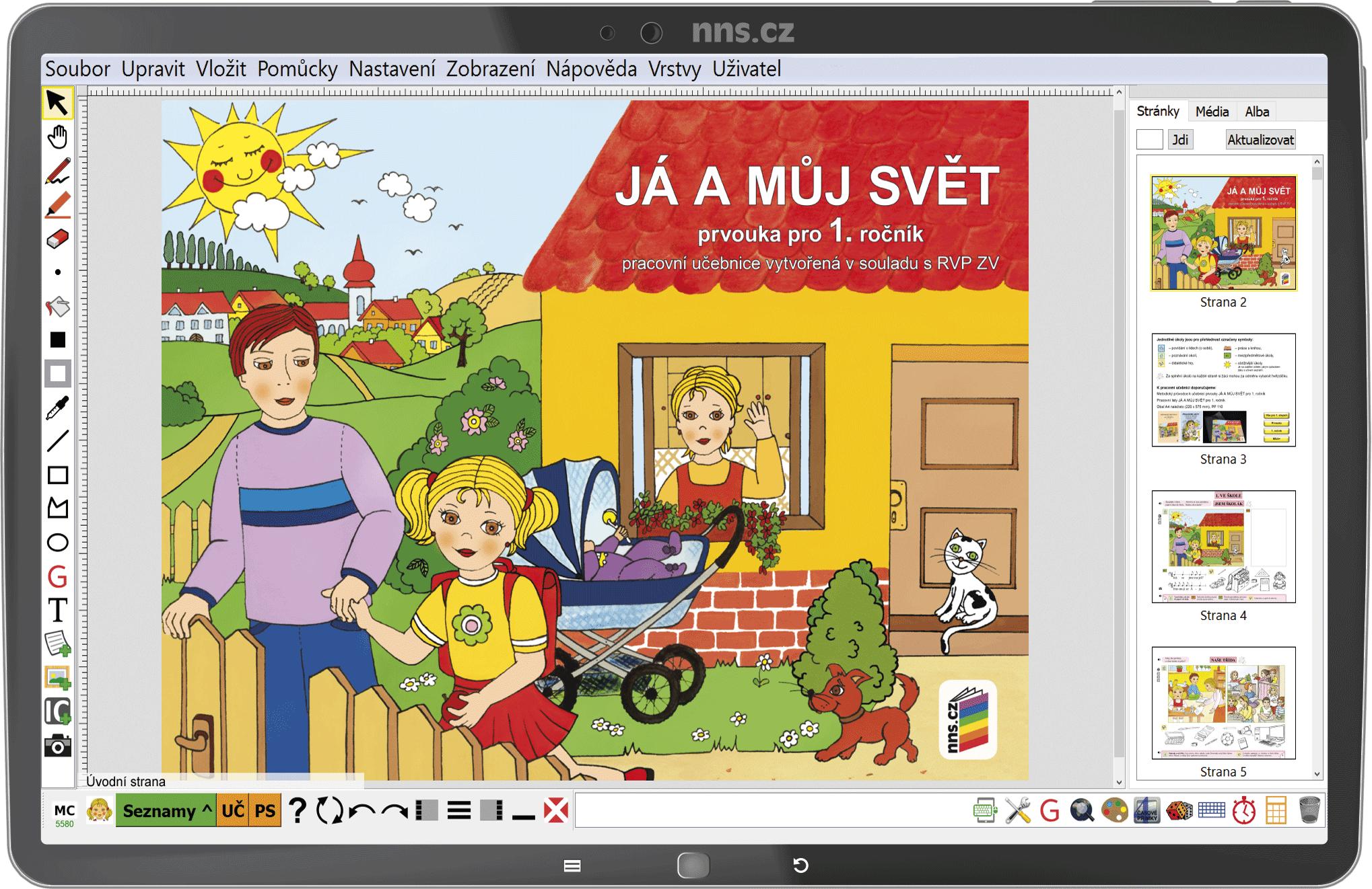 MIUč+ Já a můj svět 1 – prvouka (učebnice, pracovní listy) – školní licence pro 1 učitele na 1 š