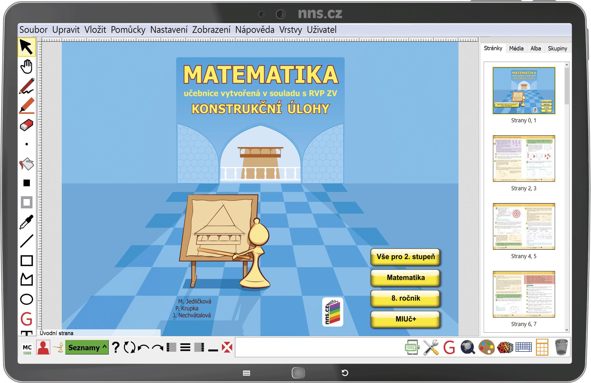 MIUč+ Matematika - Konstrukční úlohy – školní licence pro 1 učitele na 1 školní rok
