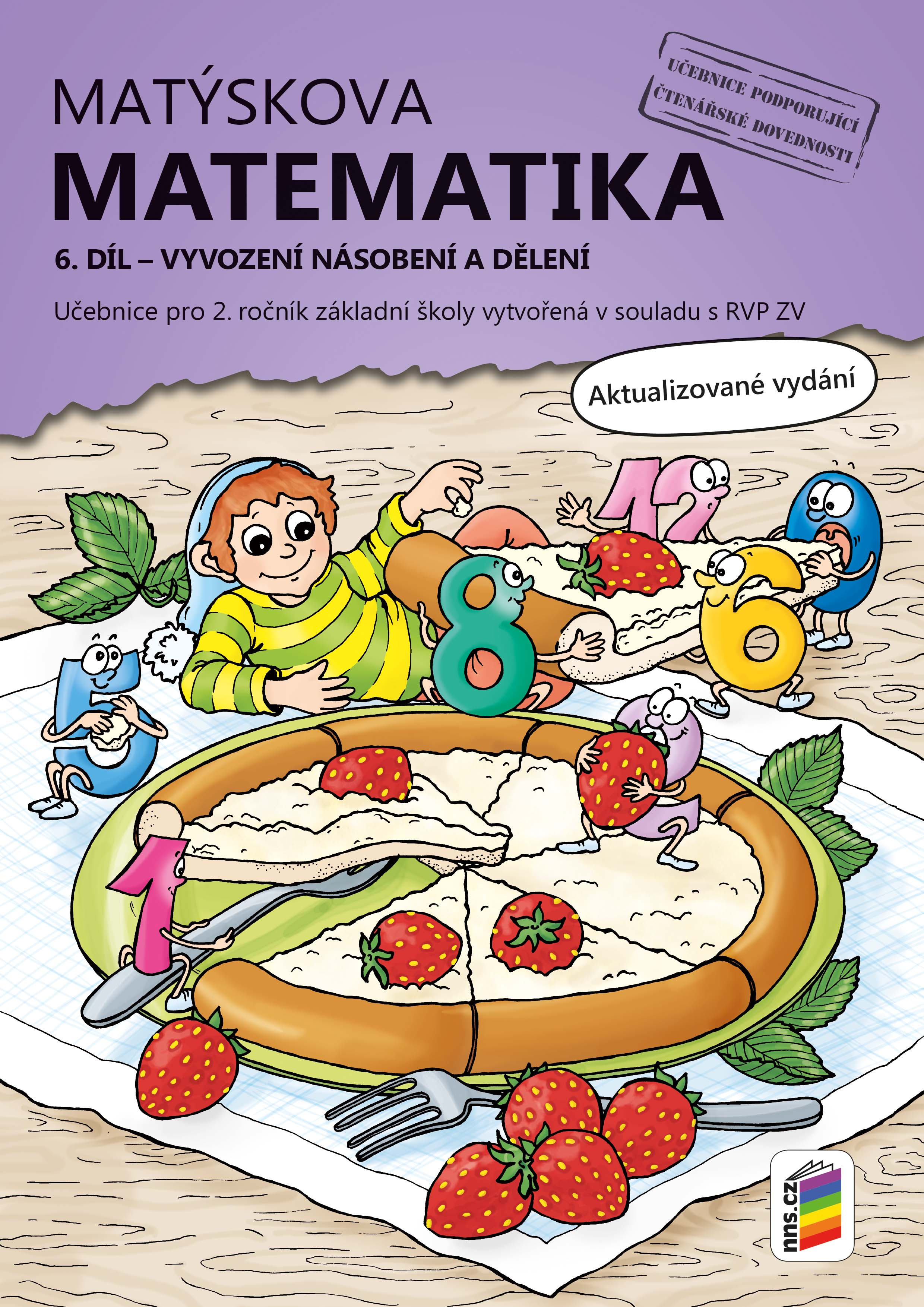 Matýskova matematika, 6. díl – počítání do 100 (vyvození násobení a dělení) - aktualizované vyd.