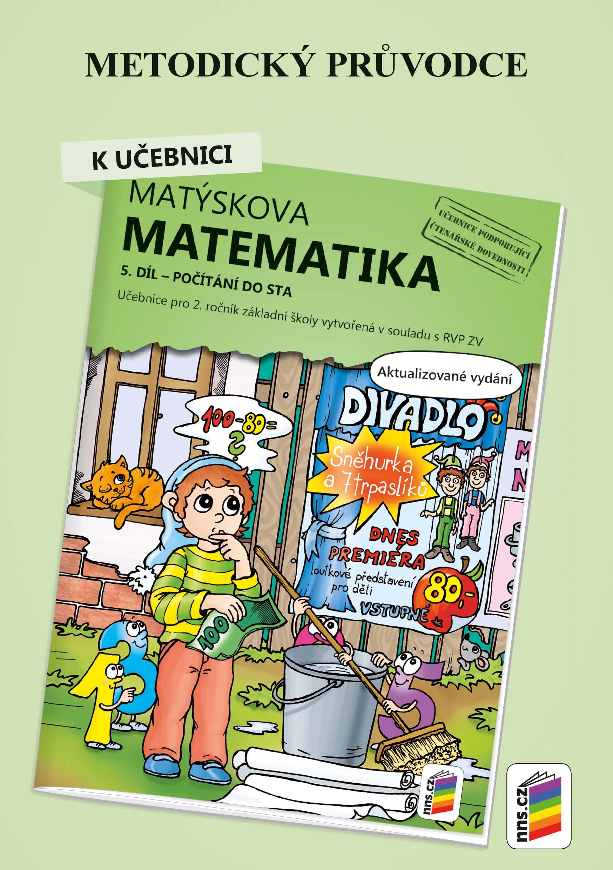 Metodický průvodce k Matýskově matematice 5. díl  - aktualizované vydání 2019