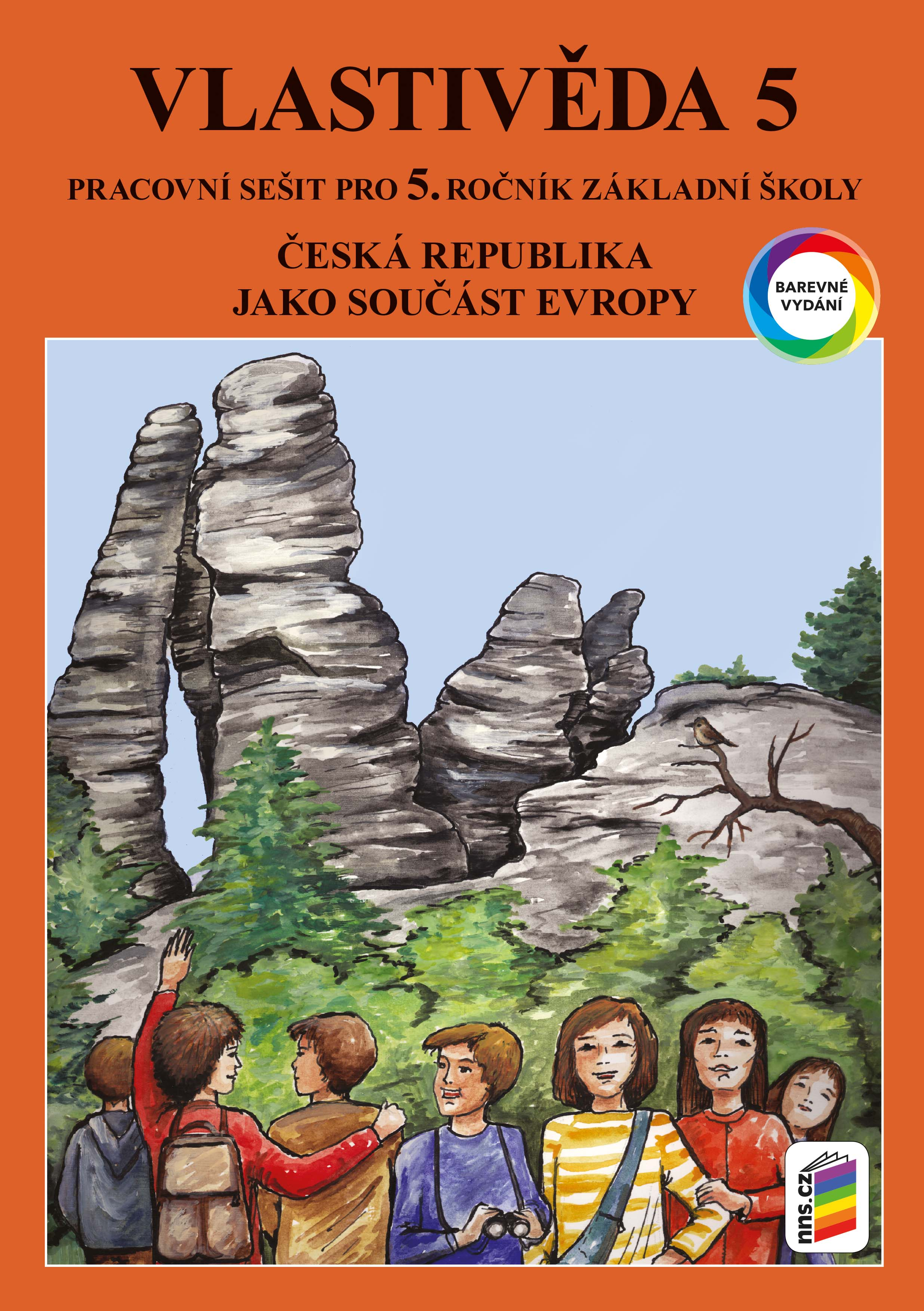 Vlastivěda 5 - ČR jako součást Evropy (barevný pracovní sešit)