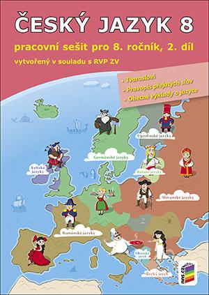 Český jazyk 8, 2. díl (pracovní sešit)