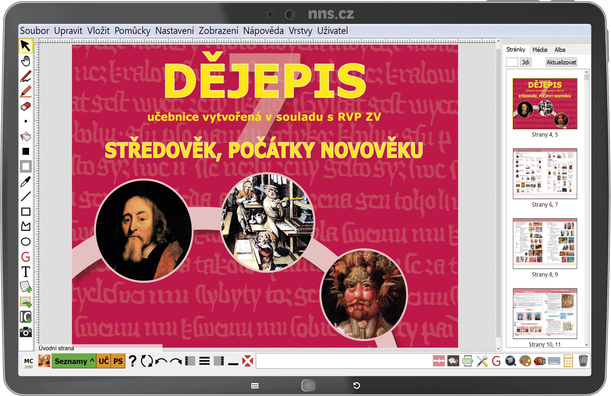 MIUč+ Dějepis 7 - Středověk, počátky novověku – školní licence pro 1 učitele na 1 školní rok