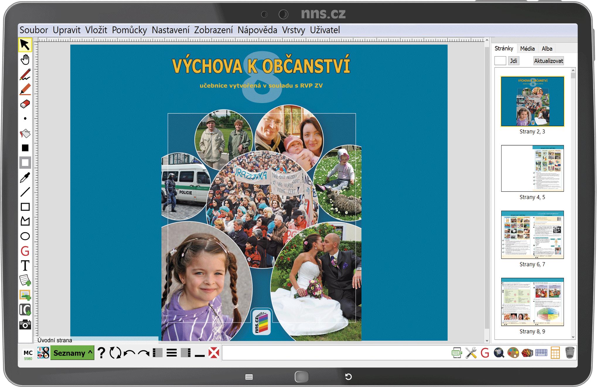 MIUč+ Výchova k občanství 8 – školní licence pro 1 učitele na 1 školní rok