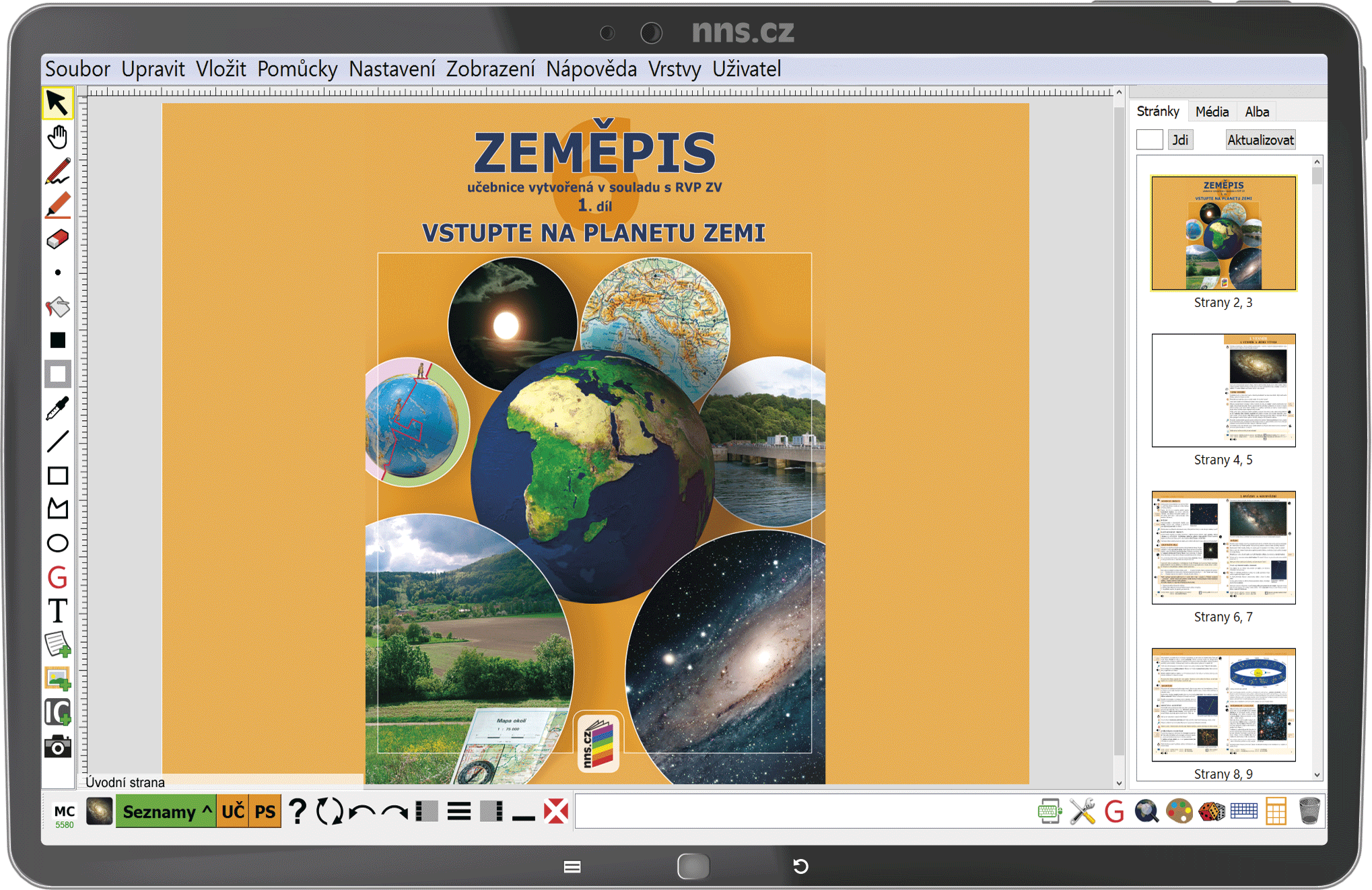 MIUč+ Zeměpis 6, 1. díl - Vstupte na planetu Zemi – školní licence pro 1 učitele na 1 školní rok