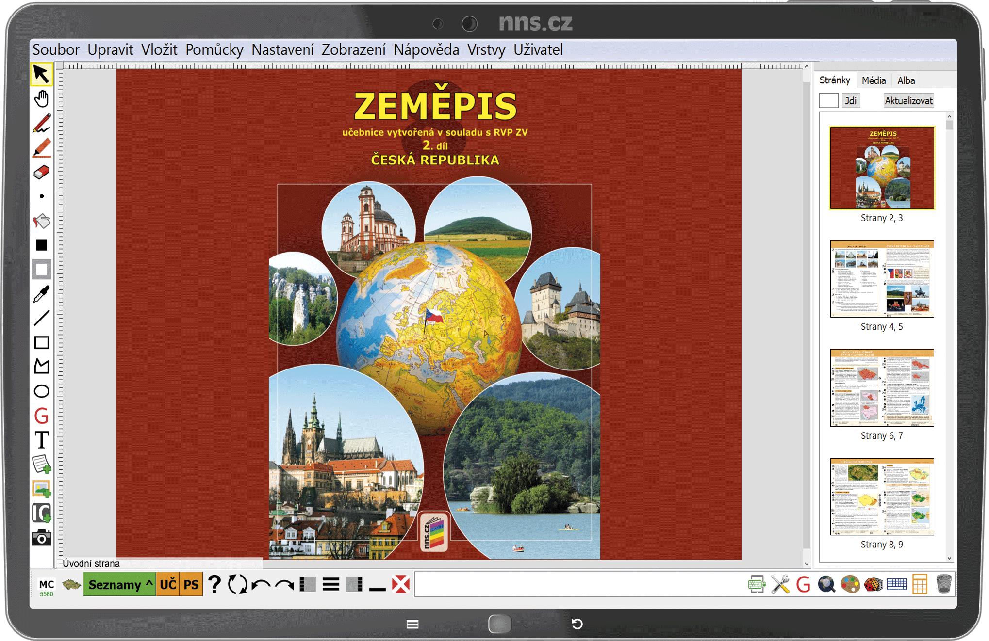 MIUč+ Zeměpis 8, 2. díl - Česká republika – školní licence pro 1 učitele na 1 školní rok