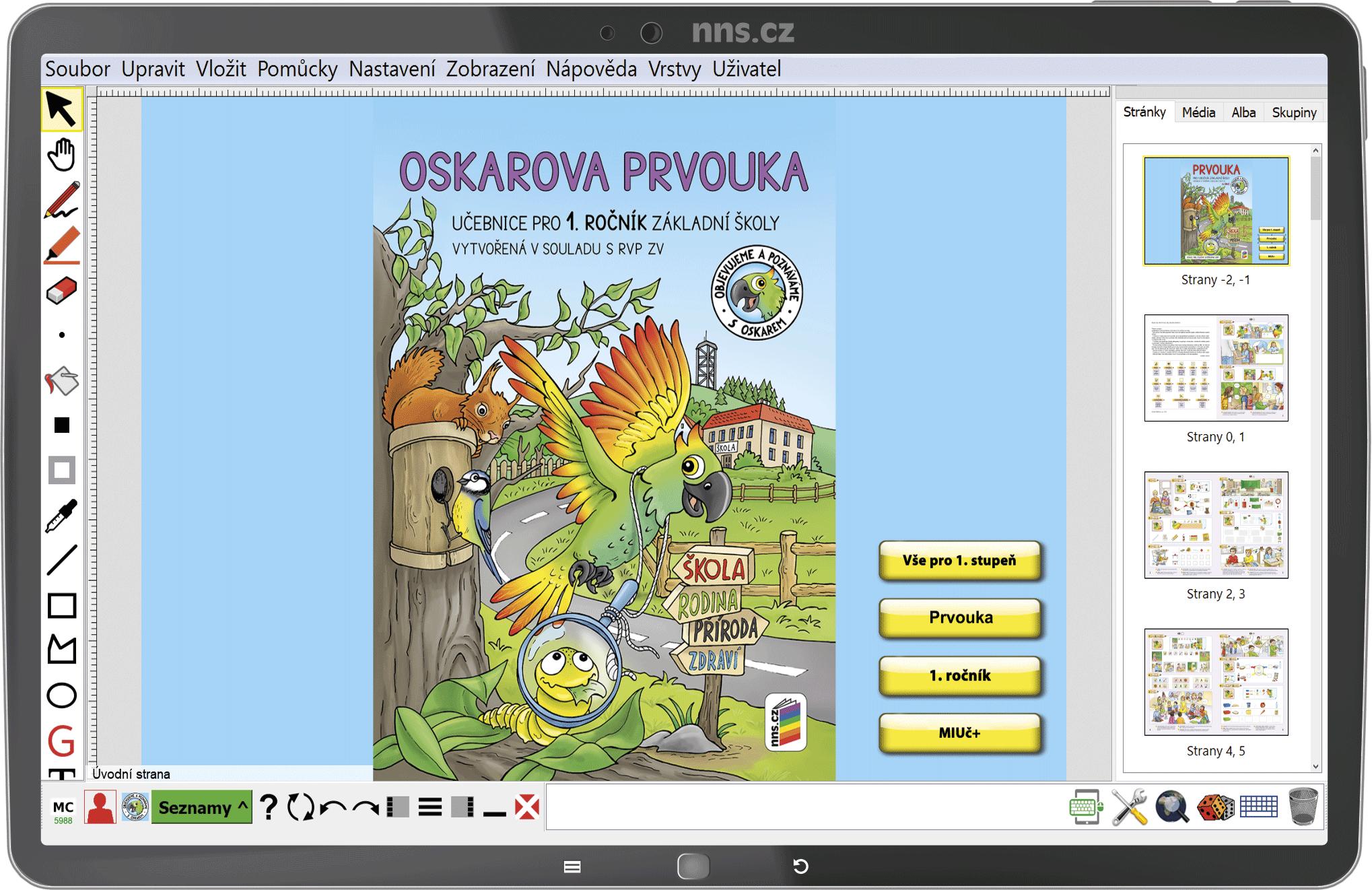 MIUč+ Oskarova prvouka 1 (učebnice)  - žákovská licence na 1 školní rok