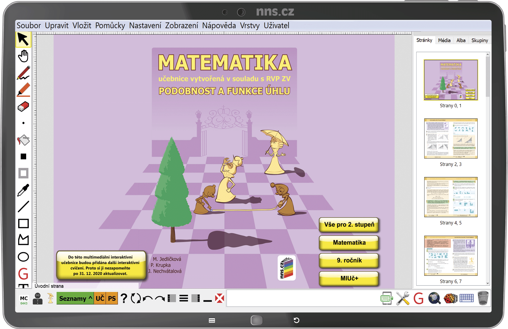 MIUč+ Matematika - Podobnost a funkce úhlu  - časově neomezená školní multilicence