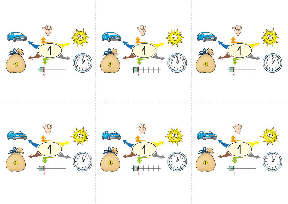 Myšlenkové mapy k Živé abecedě a Matýskově matematice 1. díl