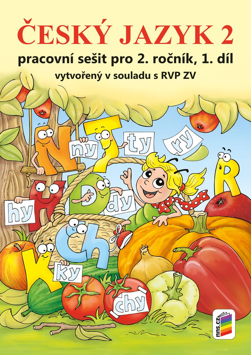 Český jazyk 2, 1. díl (s Agátou) - NOVINKA (barevný pracovní sešit)