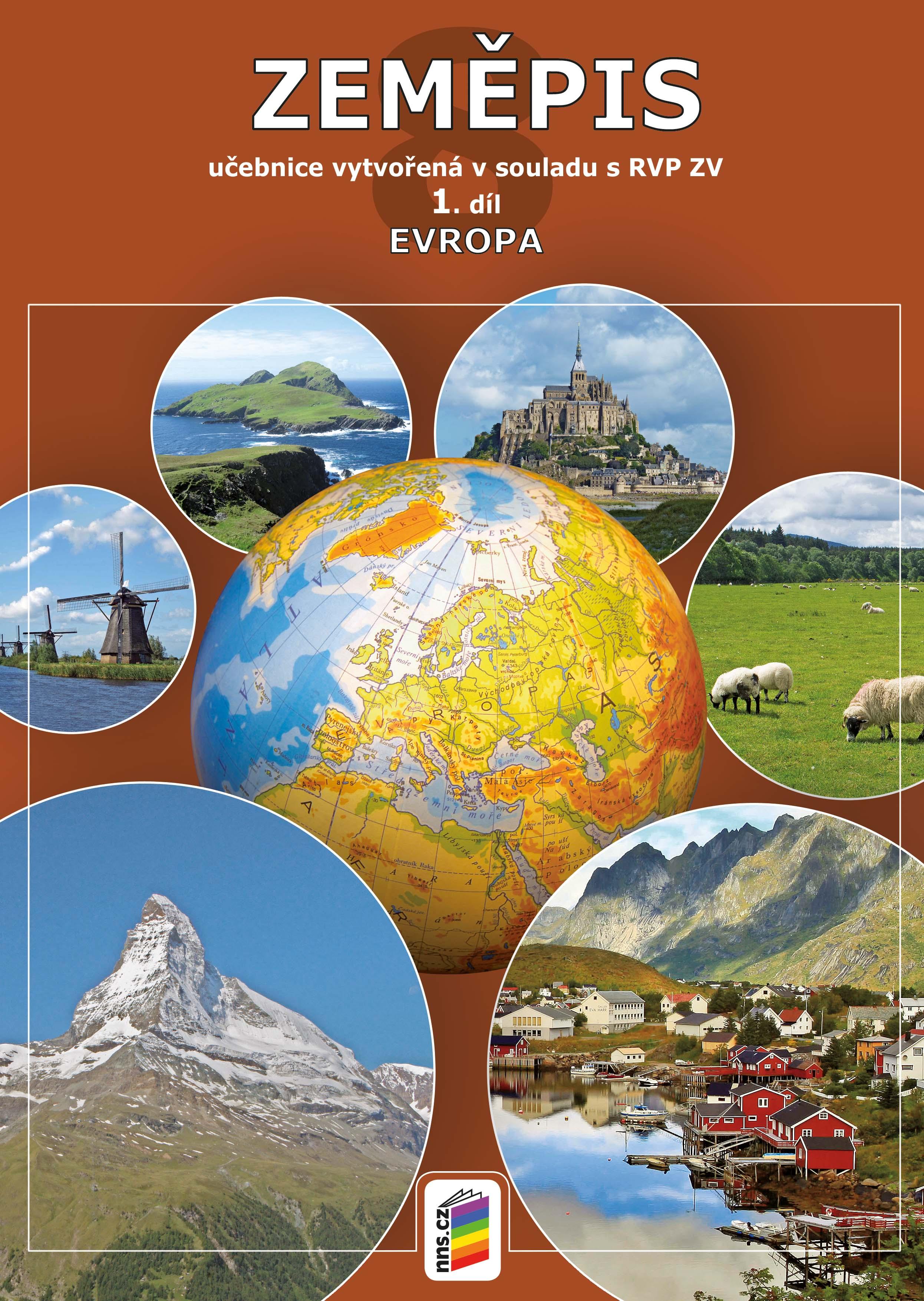 Zeměpis 8, 1. díl - Evropa