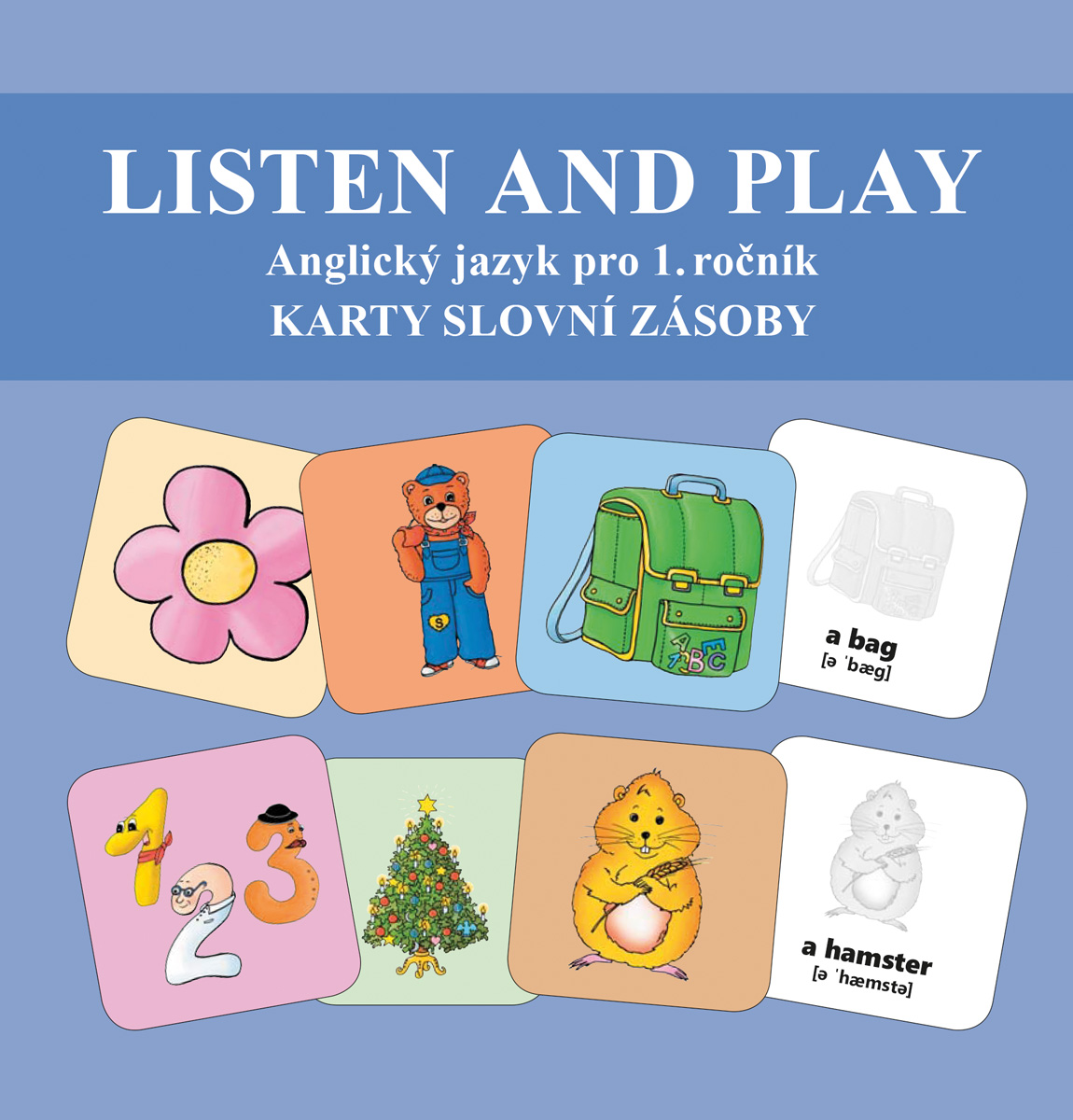 Listen and play - WITH TEDDY BEARS! - Sada karet s obrázky slovní zásoby