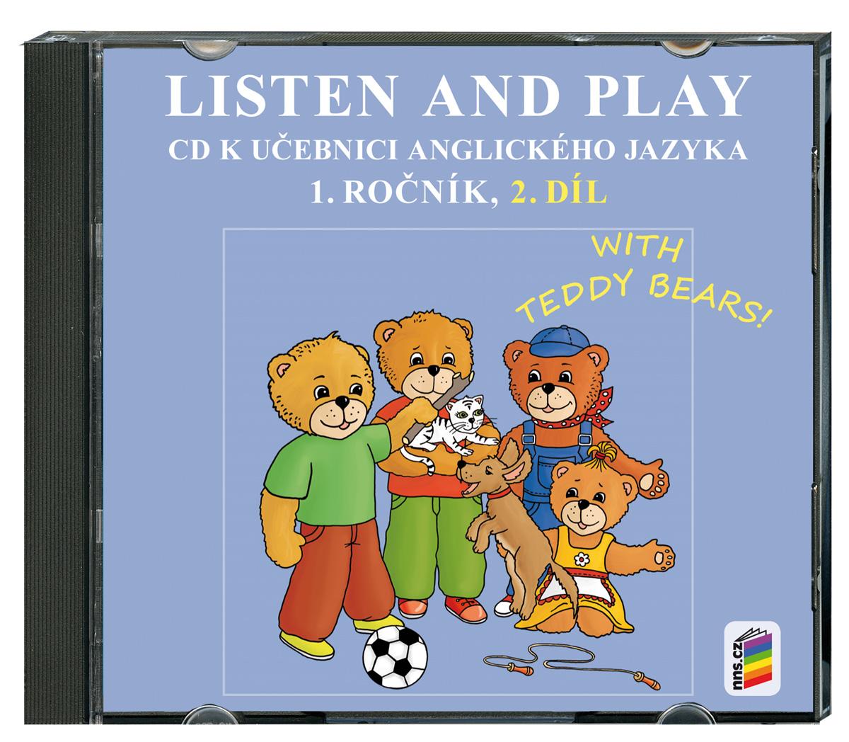 CD Listen and play - WITH TEDDY BEARS!, 2. díl