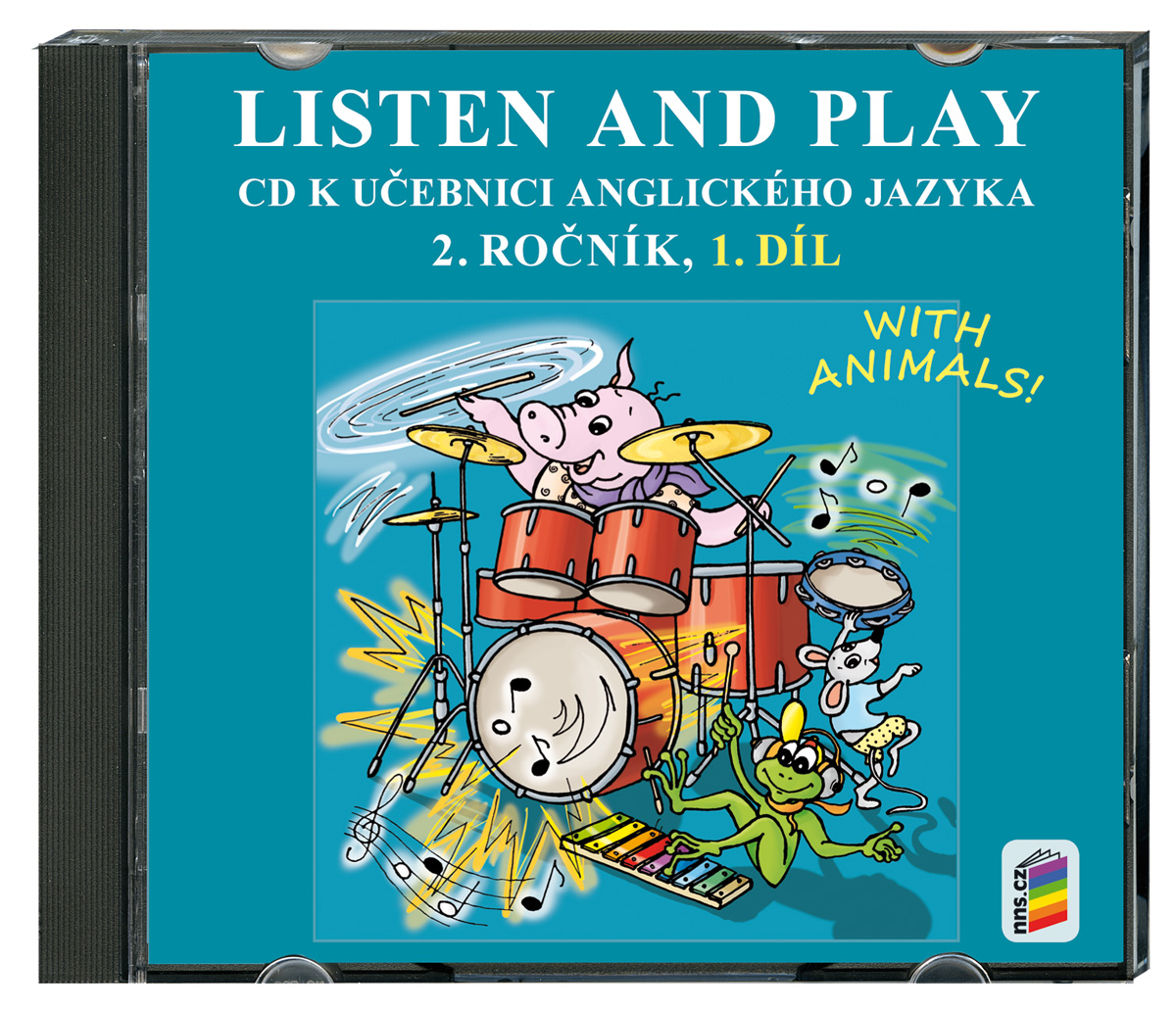 CD Listen and play - WITH ANIMALS!, 1. díl
