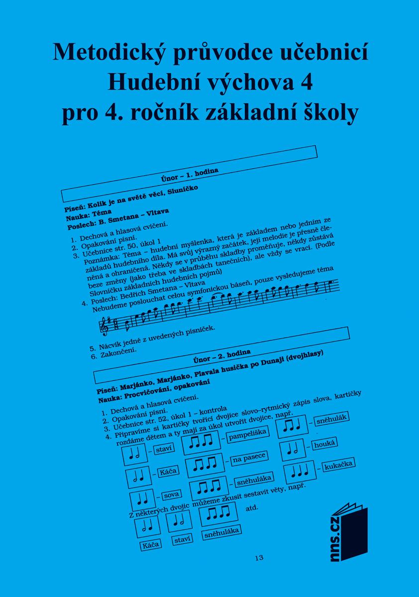 Metodický průvodce k učebnici HV 4