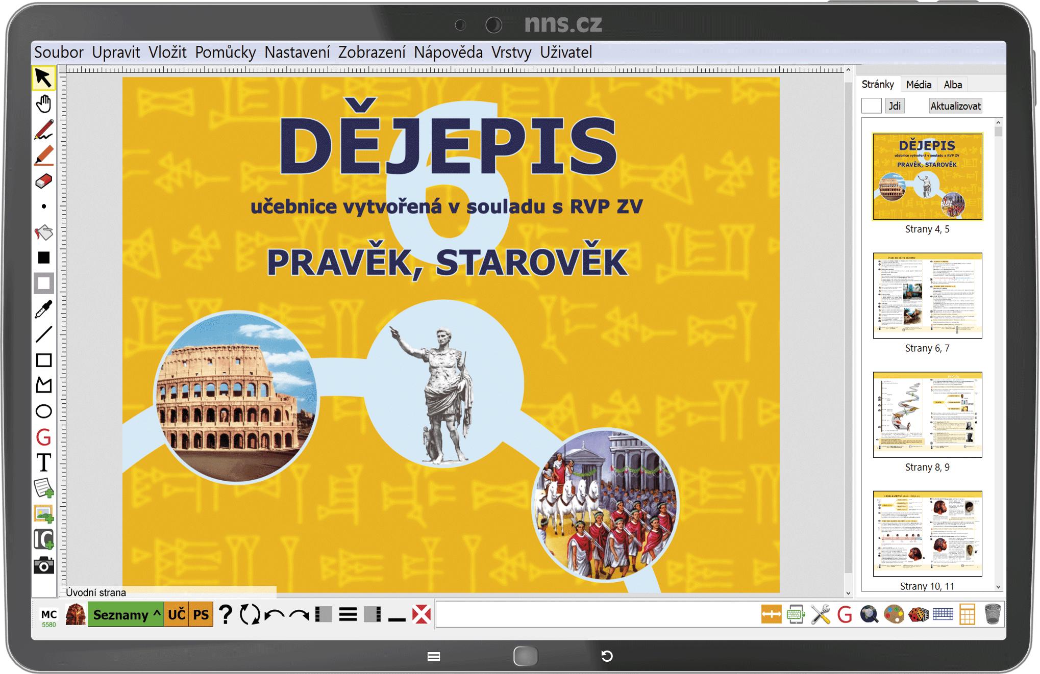MIUč+ Dějepis 6 - Pravěk a starověk - žák. licence na 1 šk. rok