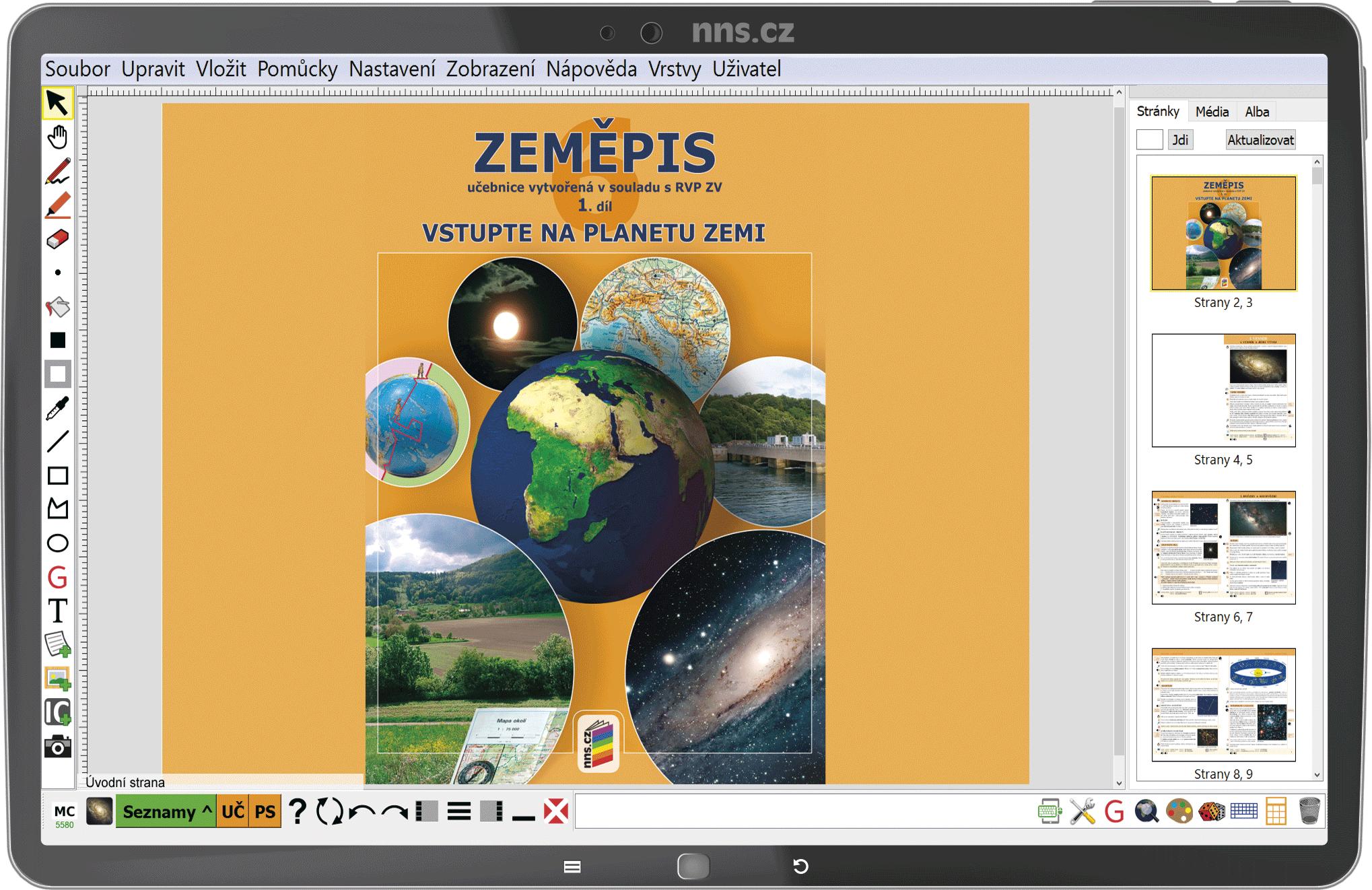 MIUč+ Zeměpis 6, 1. díl - Vstupte na planetu Zemi - časově neomezená šk. multilicence