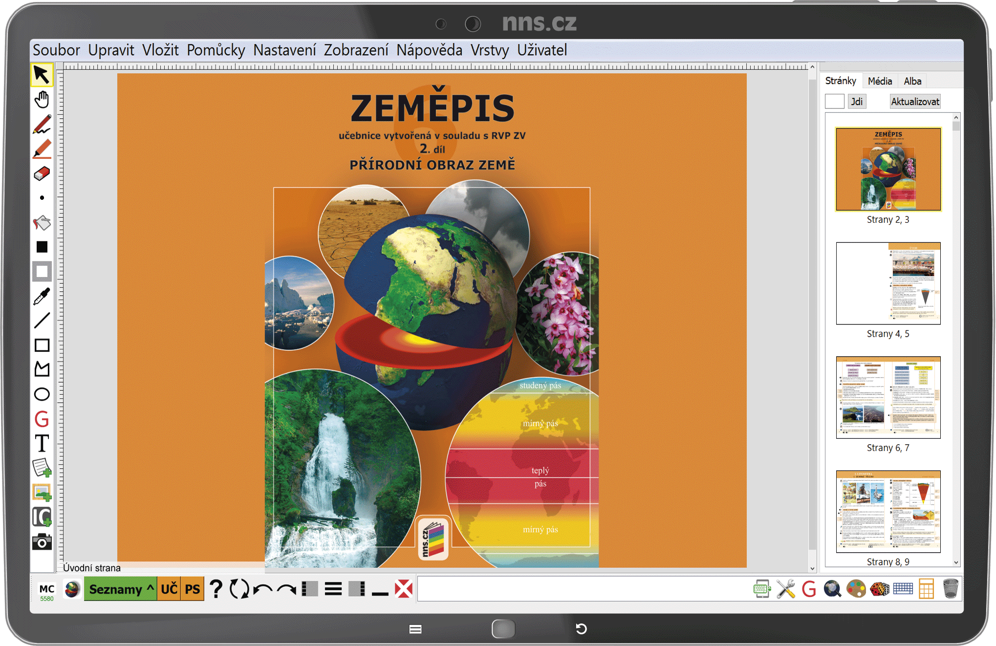 MIUč+ Zeměpis 6, 2. díl - Přírodní obraz Země - žák. licence na 1 šk. rok