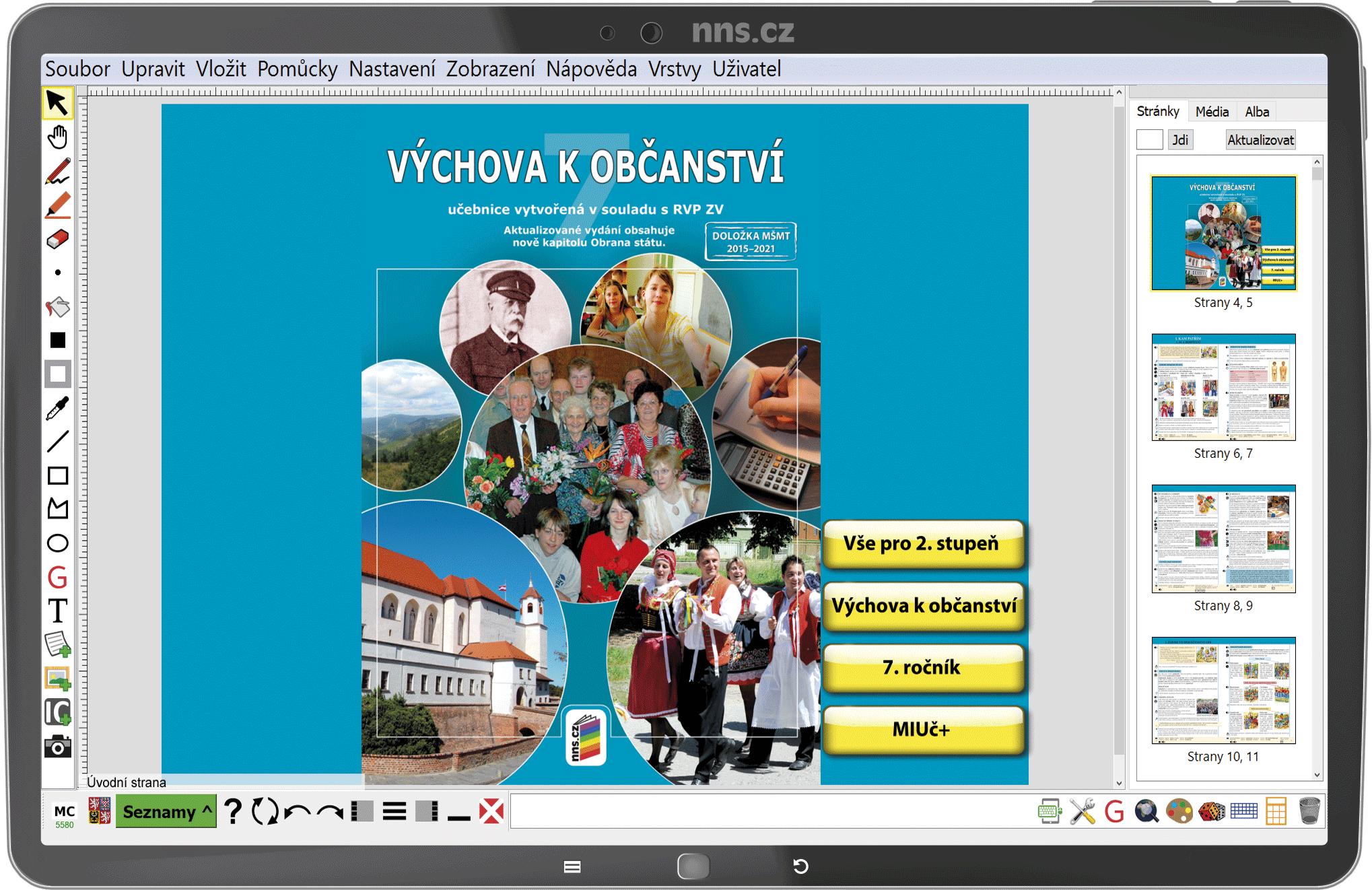 MIUč+ Výchova k občanství 7 - žák. licence na 1 šk. rok