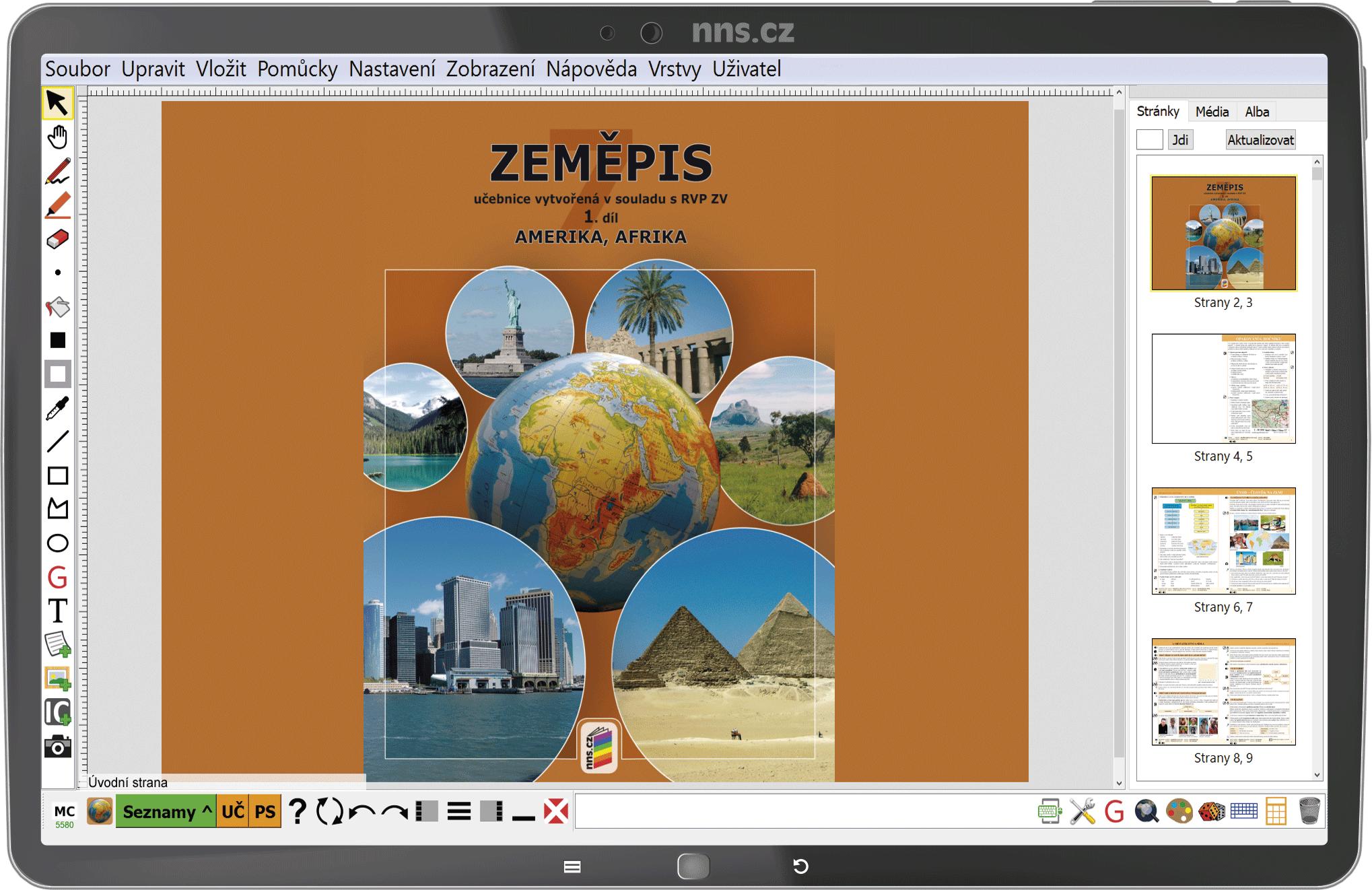 MIUč+ Zeměpis 7, 1. díl - Amerika, Afrika - žák. licence na 1 šk. rok